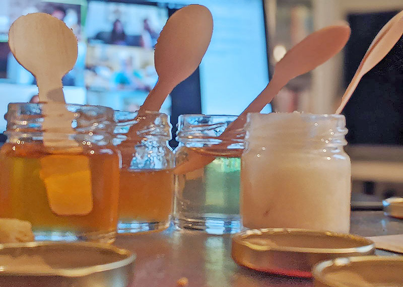 Bees & Co Online Honey Tasting Experience 3 – The Artisan Food Trail