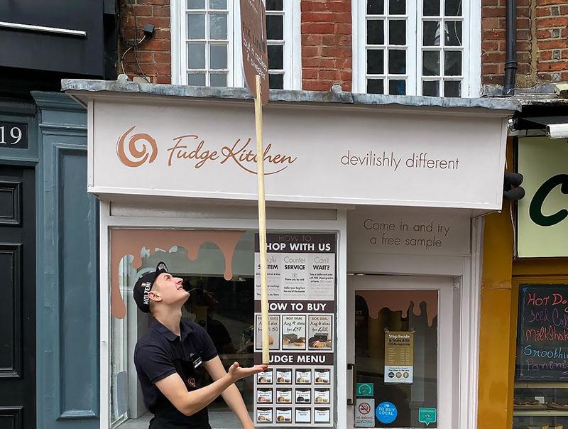 Fudge Kitchen shops reopen 3 - The Artisan Food Trail