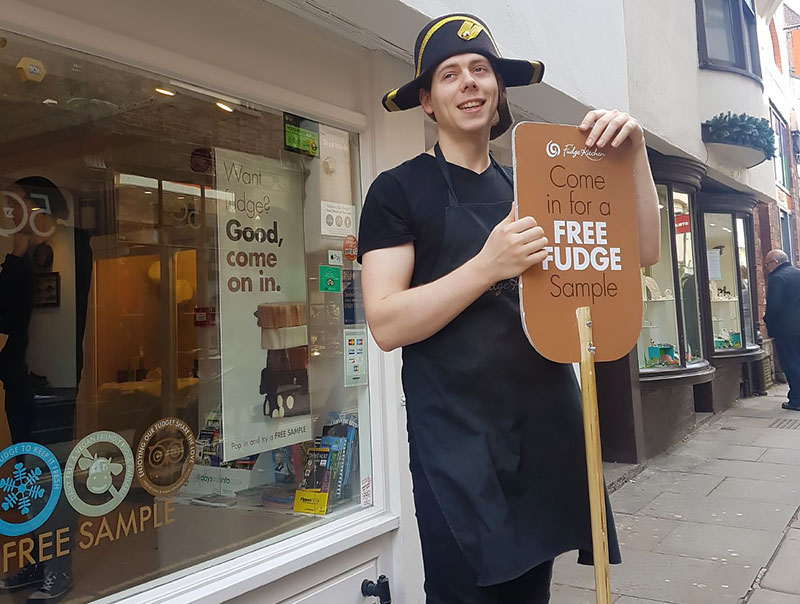 Fudge Kitchen shops reopen 4 - The Artisan Food Trail