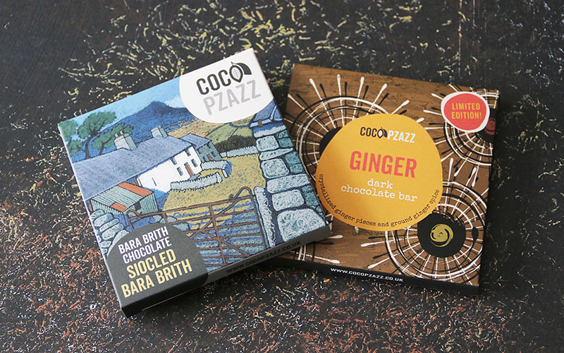 Coco Pzazz Chocolate Bars 01 – The Artisan Food Trail