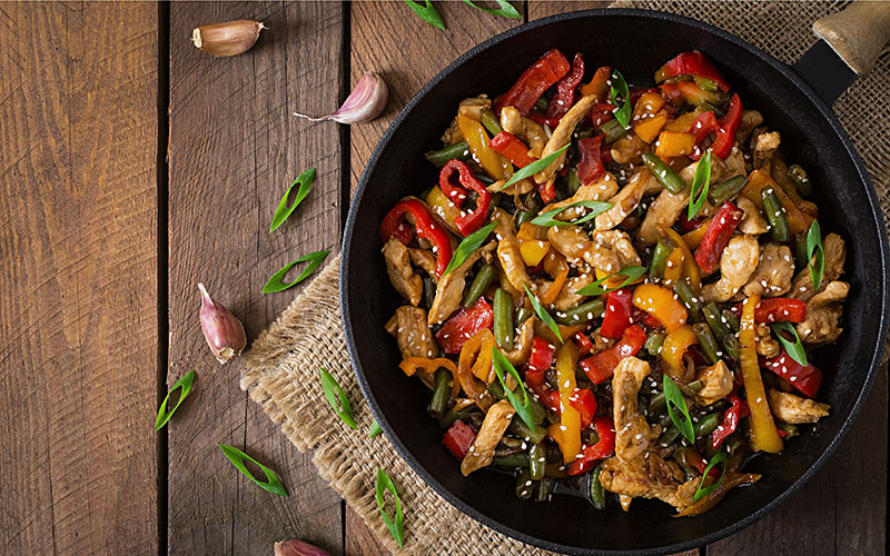 7 steps to successful stir-frying
