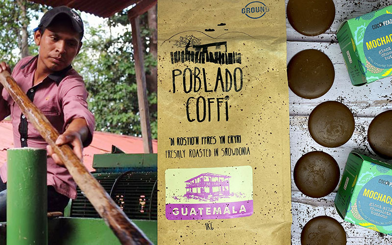 A coffee collaboration and new flavours from conscious chocolate company, Coco Pzazz