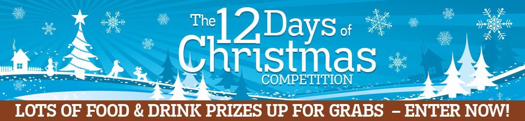 12 Days of Christmas Competition Banner – artisan Food Trail