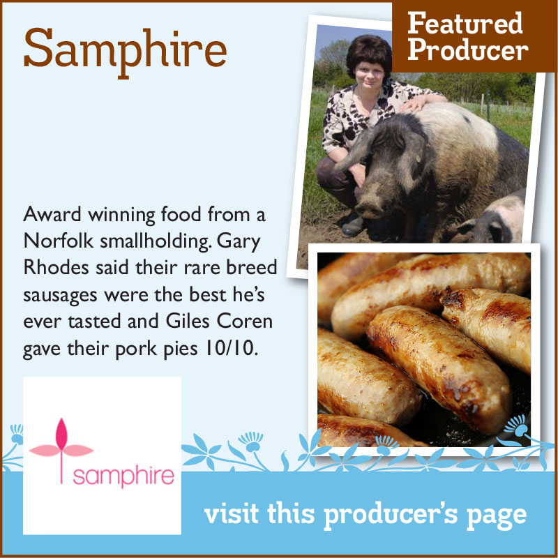 Samphire – The Artisan Food Trail