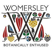 womersley fruit & herb vinegars logo - the artisan food trail
