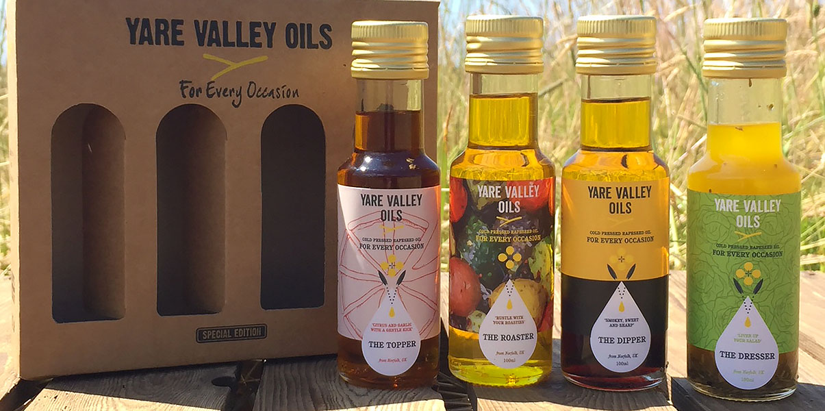 12 days Christmas competition – Yare Valley Oils – The Artisan Food Trail
