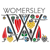 womersley fruit & herb vinegars logo - the artisan food trail