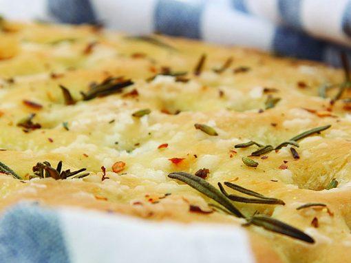 Lavender, Chilli & Rosemary Focaccia