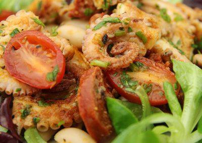 Octopus and Chorizo Salad