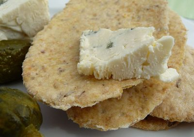 Savoury Seedy Crackers