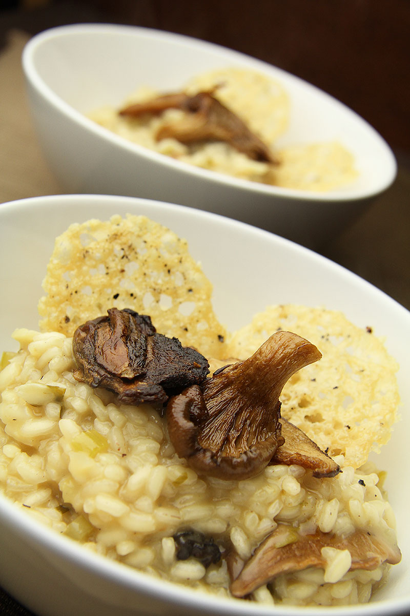 Smoked Mushroom Risotto - The Artisan Food Trail
