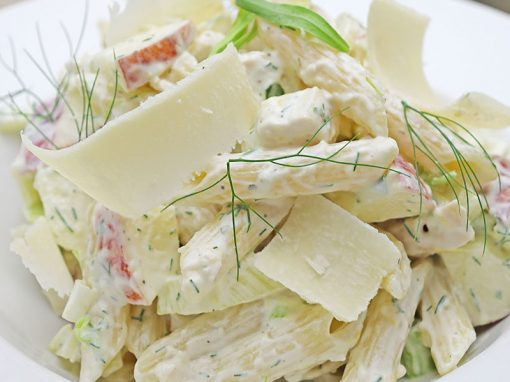 Chicken, Fennel & Apple Pasta Salad
