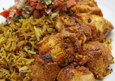 Chicken Tikka with a Mauritian Twist