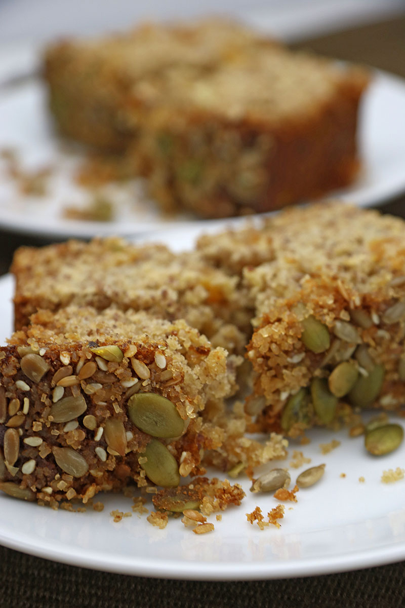 Honey & Apricot Oat Cake 1 recipe