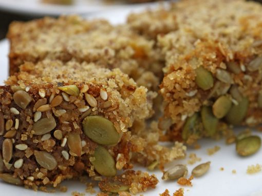 Honey & Apricot Oat Cake