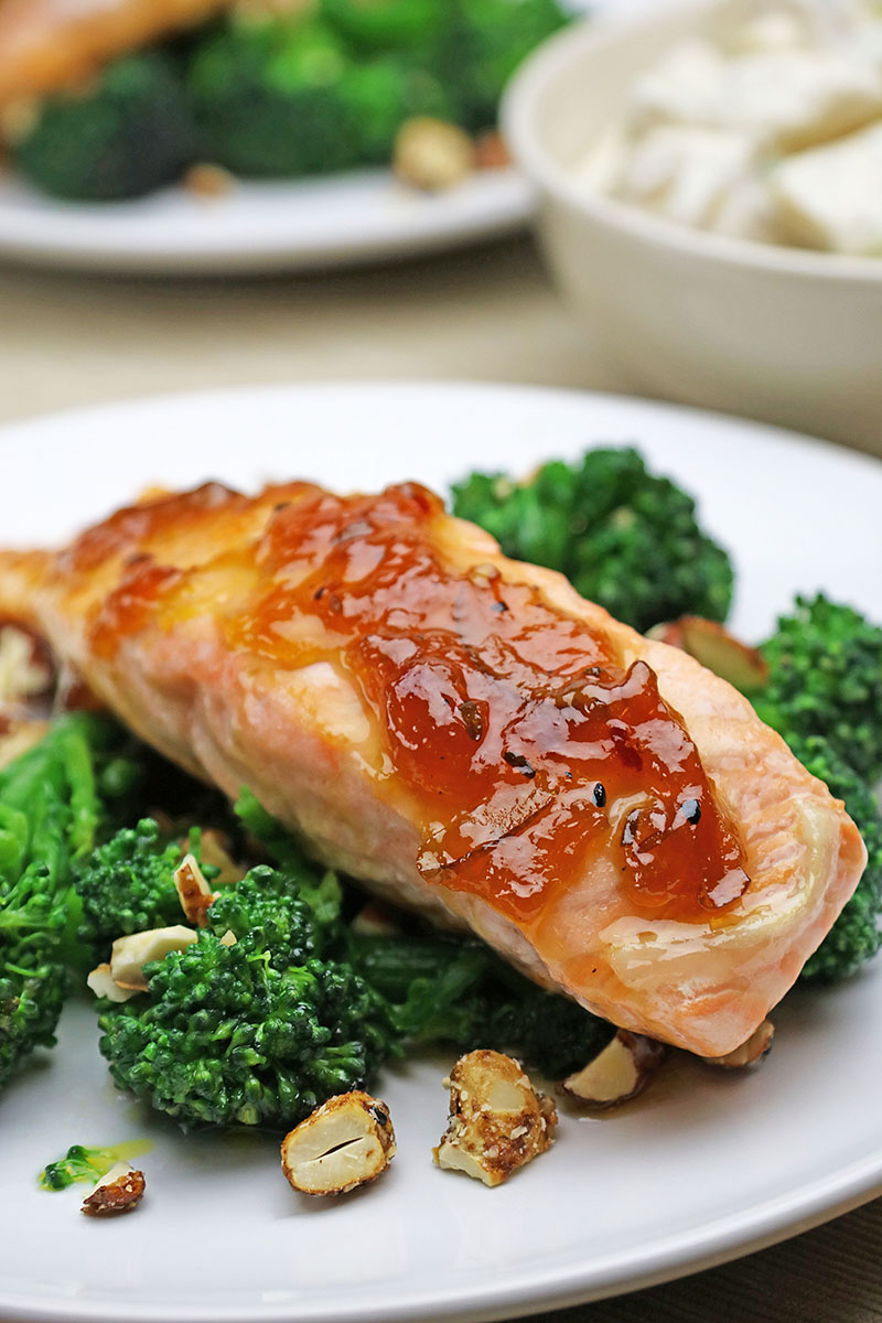 Marmalade Glazed Salmon Recipe