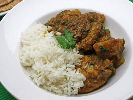 Ragini's Chicken Curry (Cari Poule)
