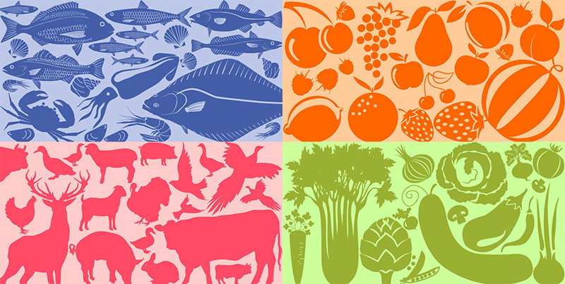 Food Seasonality Icon