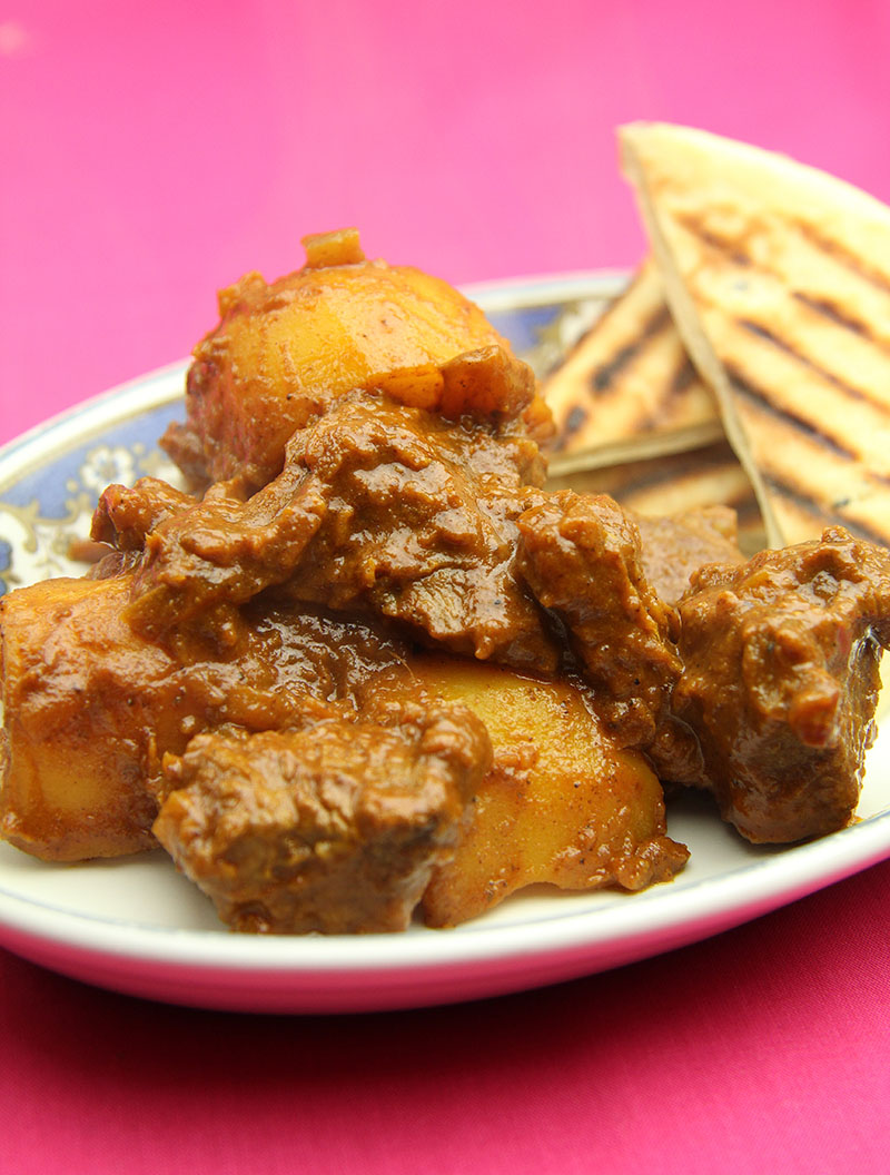 Aloo Mutton Shakkarwala recipe 1 – The Artisan Food Trail