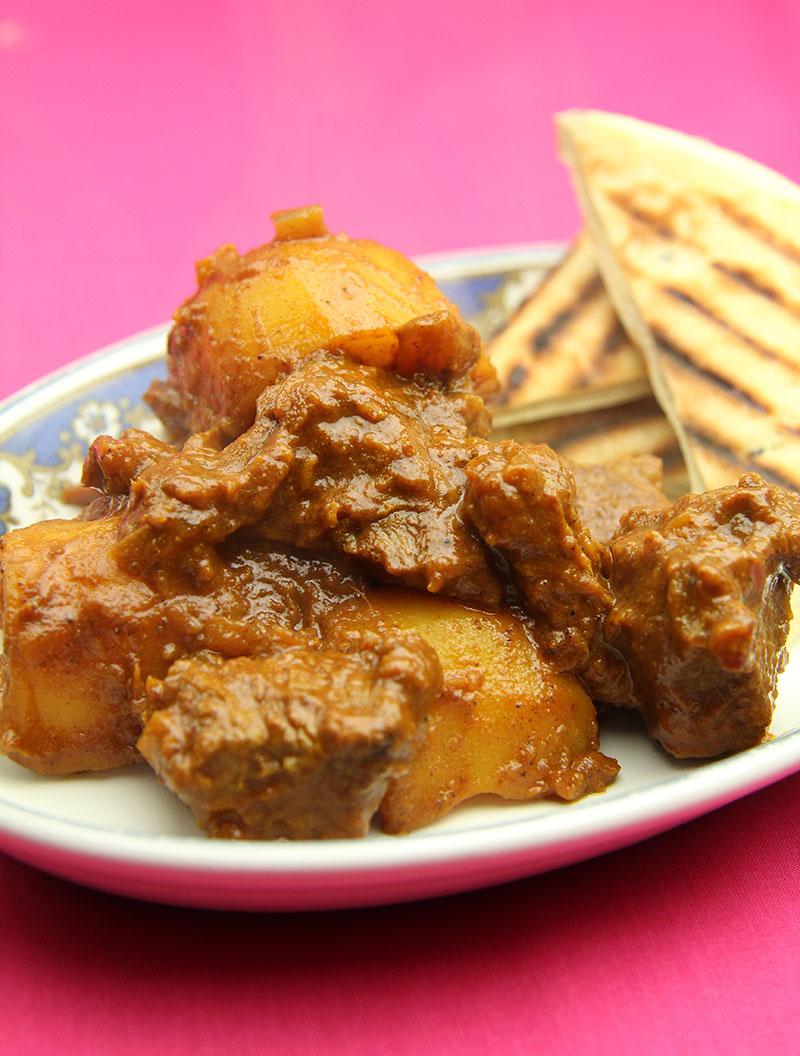 Aloo Mutton Shakkarwala recipe 1 – The Artisan Food Trail